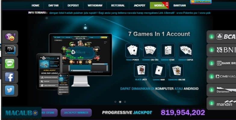 POKERBO poker IDN terbaik di indonesia