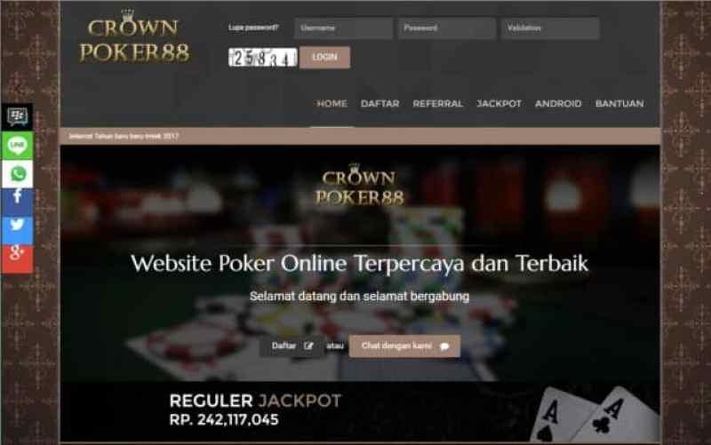 CROWNKING88 Agen poker online terbaik dan terpercaya di indonesia