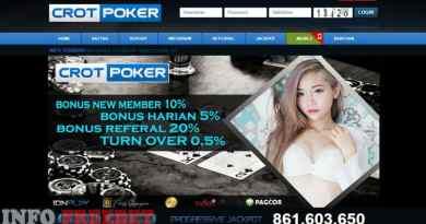 CrotQQ Agen Poker Judi Poker Online Terpercaya dan Nikmati Bonusnya
