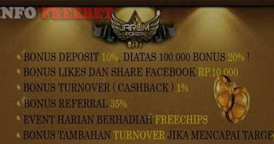 Freebet like dan share facebook dari JARUMPOKER1.com
