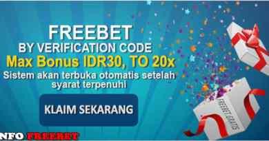 Freebet Gratis IDR 30.000 Dari PEMBURUHARTA.COM