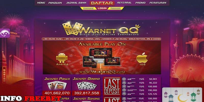 WARNETQQ.NET- Situs Agen Judi PokerV Terbaik Dan Terpercaya 2017