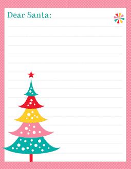 Free santa letter templates santa claus santa pinkdots free letter to santa template spiritdancerdesigns Images