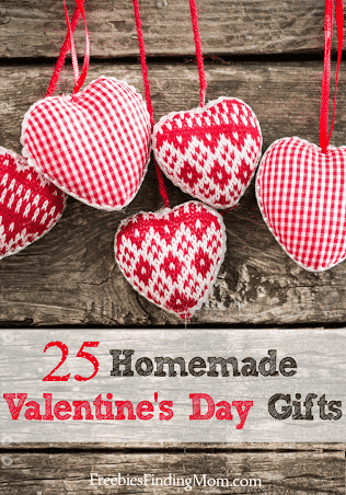 25 Heartfelt Homemade Valentines Day Gifts
