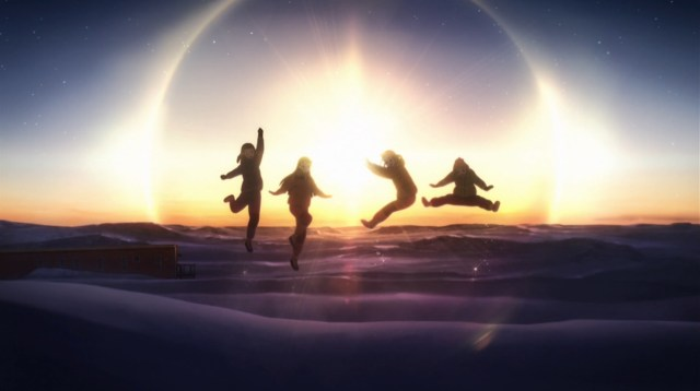 A Place Further Than the Universe is an anime about four high school girls who embark on a mission to Antarctica in a bid for self-discovery.