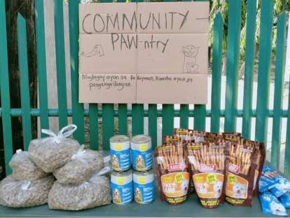 """PAWS Philippines sets up its own """"Community PAW-ntry"""" in QC"""
