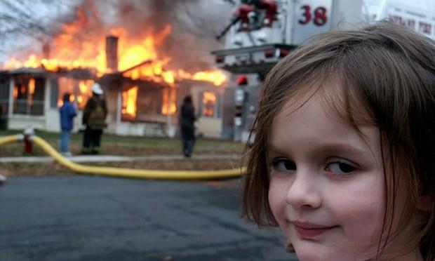Disaster Meme Girl Sells Photo for Almost $500,000