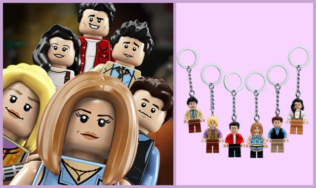 """Add These Cute LEGO Keychains To Your Growing """"Friends"""" Collection"""