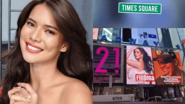 FreebieMNL - LOOK: Filipina beauty queen gets featured on New York's Times Square