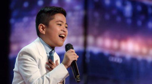 WATCH: the Filipino kid that got everyone standing on America's Got Talent