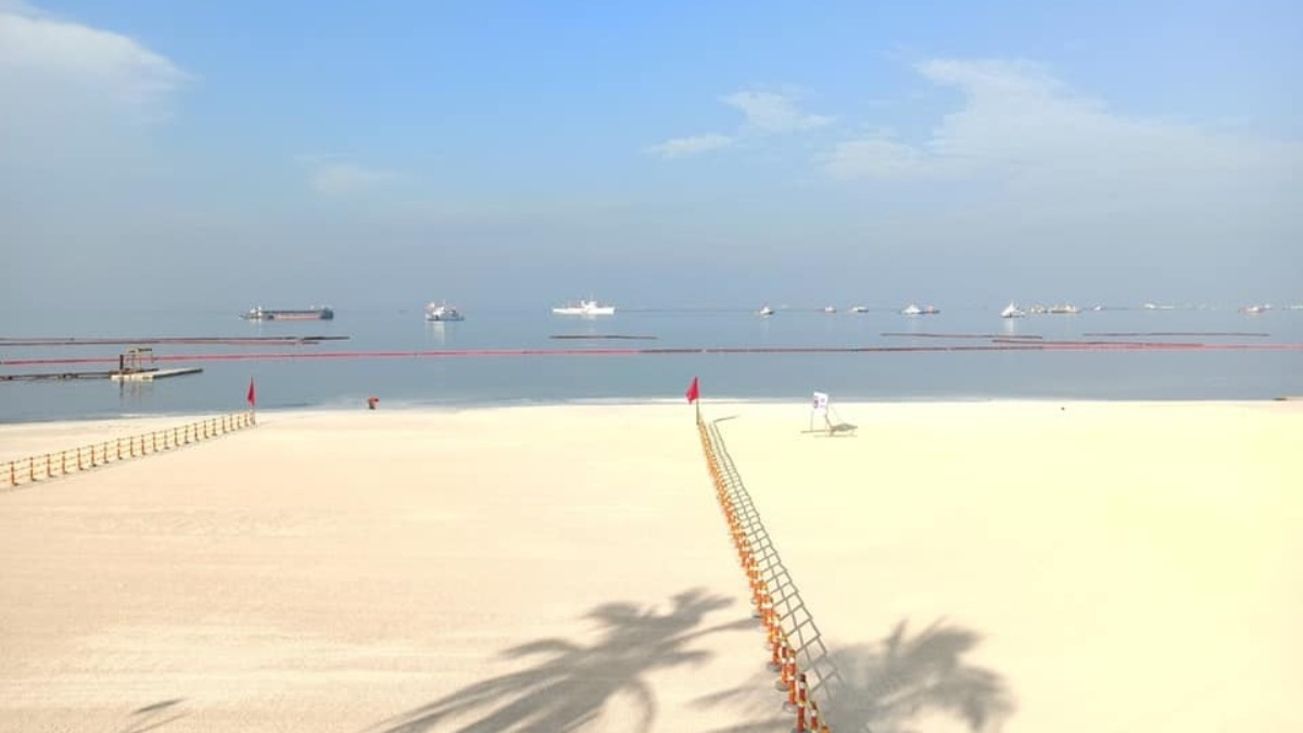 DENR reopens 'white sand beach' this July