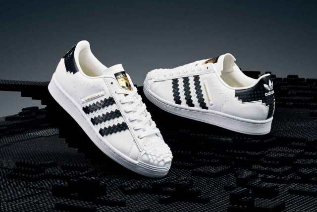 "FreebieMNL - LOOK: ""Kicks, meet bricks"": Adidas x LEGO Superstar sneakers finally drop"
