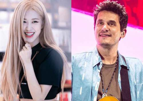 """FreebieMNL - """"Life is complete"""": BLACKPINK's Rosé receives pink guitar from John Mayer"""