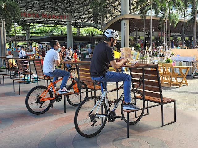 Park-and-Eat Bike Racks Now Available in BGC