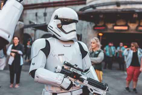 shallow focus photo of stormtrooper