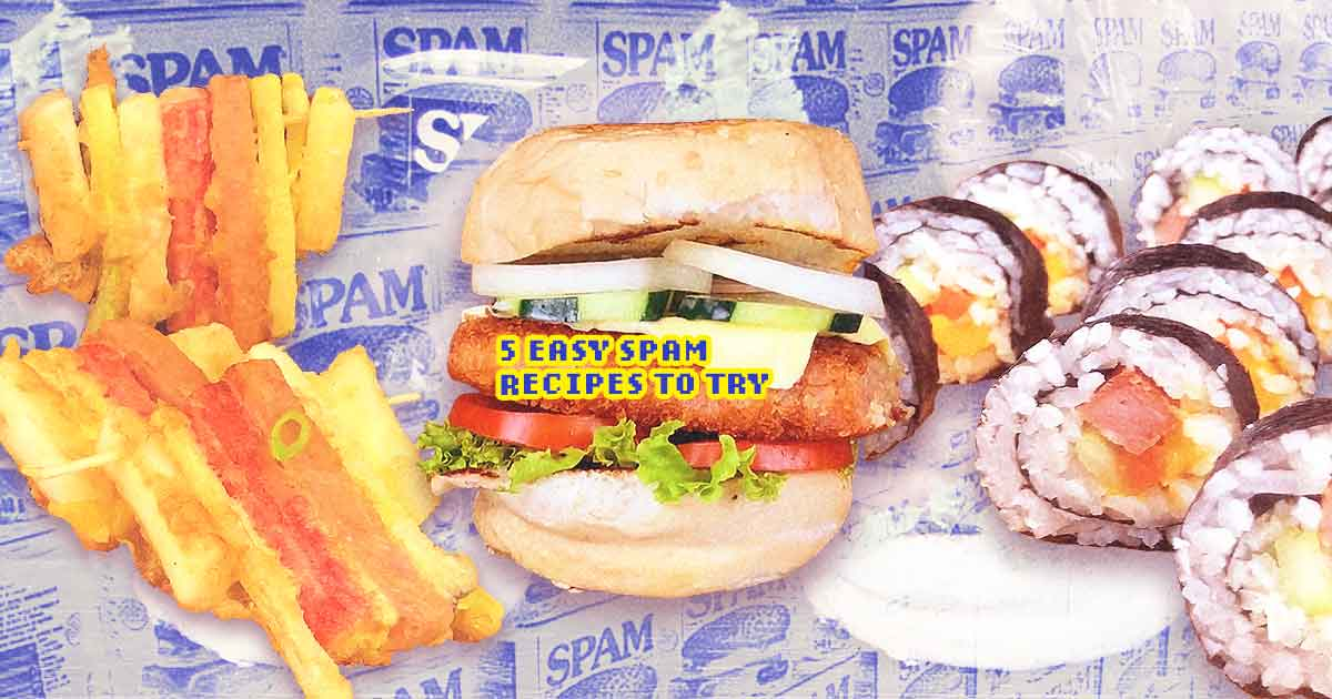 Lunch Boxer PH Dishes Easy Spam Recipes You Won't Get Enough Of