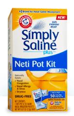 Simple Saline Neti Pot Kit