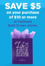 picture relating to Hallmark Coupon Printable identified as Expired* Hallmark $5 off $10 Printable Coupon