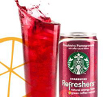 Coupon $1.00 off Starbucks Refreshers