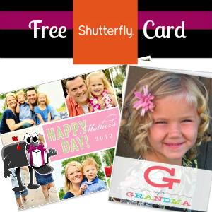 Free Shutterfly Card
