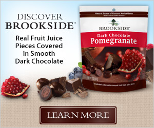 Save $2.50 on Brookside Chocolate