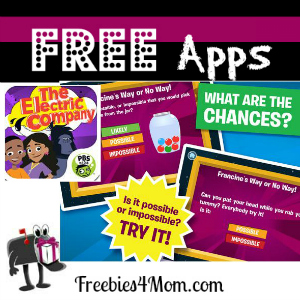 Free iPad App: The Electric Company Party Game