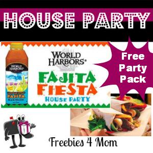 Free House Party: World Harbors Fajita Fiesta