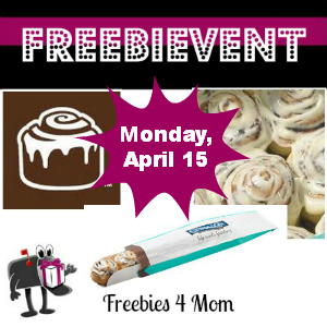 Free Cinnabon Bites April 15