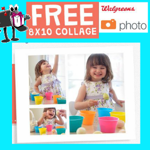 Free 8x10 at Walgreens *Sunday Only*