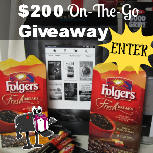 $200 Folgers On-The-Go Giveaway