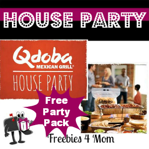 Free House Party: Qdoba Mexican Grill