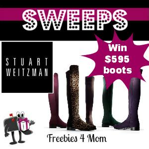 Sweeps Stuart Weitzman One Million Reasons to Celebrate (3 Daily Winners)