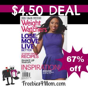Deal $4.50 for Weight Watchers Magazine