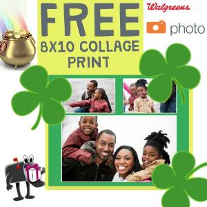 Free 8x10 Photo Collage at Walgreens