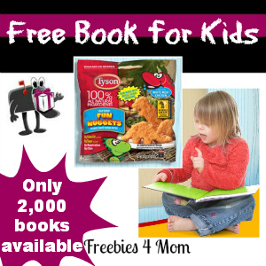Free Book from Tyson Chicken Nuggets