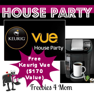 Free House Party: Keurig Vue ($170 value)