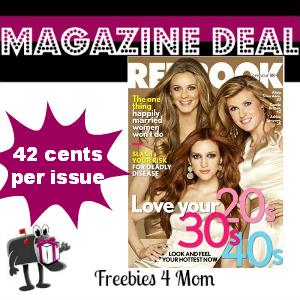 Deal $4.99 for Redbook Magazine