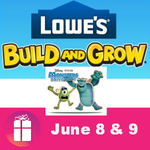 Free Kids Clinic at Lowe's June 8 & 9