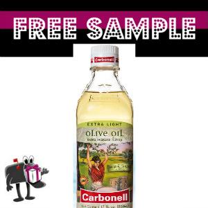 Free Sample Carbonell Olive Oil
