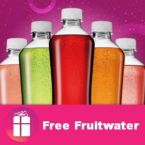 Freebie Fruitwater at Kroger