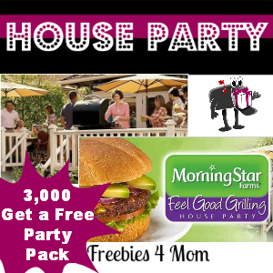 Free House Party: MorningStar Farms Feel Good Grilling