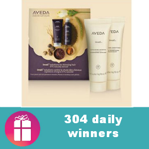 Sweeps Aveda Invati (304 Daily Winners)