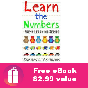 Free Children's eBook: Learn the Numbers