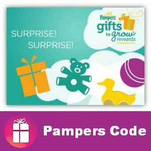 Free Pampers Code 10 points