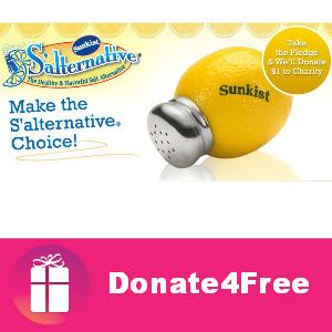 Donate4Free: Sunkist S'alternative Pledge