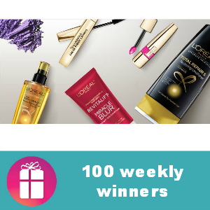 Sweeps L'Oreal Your Signature Beauty Giveaway