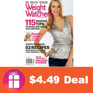 Deal $4.49 for Weight Watchers Magazine