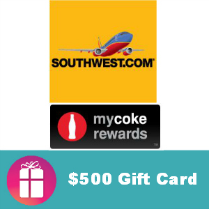 Sweeps Win a $500 Southwest Airlines Gift Card
