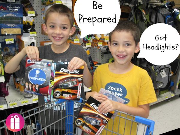 Be Prepared. Got Headlights? #LightMyWay