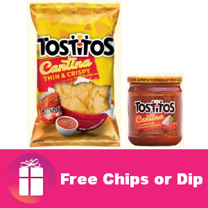 Freebie Tostitos at Kroger